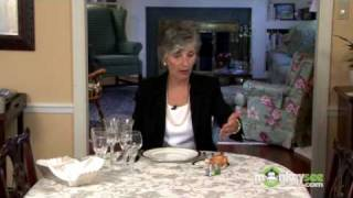 Basic Dining Etiquette - The Bread and Condiments