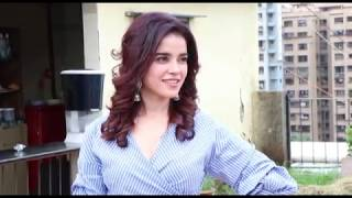 Hottest Babes Pia Bajpai Showing Assets While Talks On Her Film Abhi and Anu - Must Watch