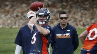 QB Chad Kelly ready to deal at Broncos Camp