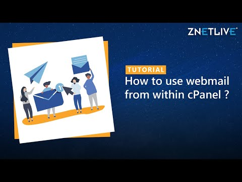 What is webmail and how to access it in cPanel ?