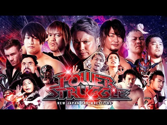Image result for 2017 NJPW Power Struggle Results