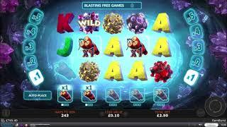 Online Slot Bonus Compilation - The 100k Drop, Gemburst and More!