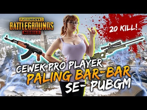 20 KILL AKM + AWM! KIMI HIME CEWEK PRO PLAYER PALING BARBAR SE-PUBGM! - PUBG Mobile Indonesia