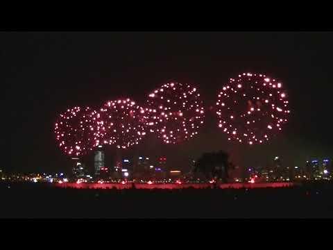 NYE Perth Western Australia Fireworks