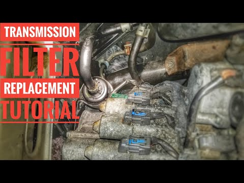 HOW TO REPLACE ACURA MDX   ZDX  RDX TRANSMISSION FILTER TUTORIAL