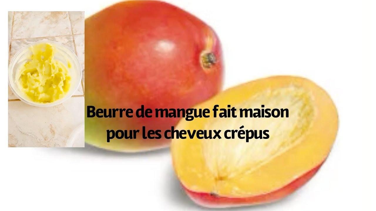 Beurre De Mangue Pour Nourrir Et Favoriser La Pousse Des Cheveux Fait Maison Youtube