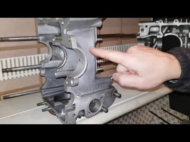 Zusammenfassung Steyr Puch Boxermotorblock TR1 und TR2