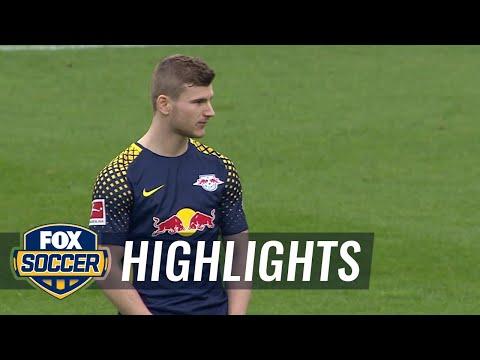 VfB Stuttgart vs. RB Leipzig | 2017-18 Bundesliga Highlights