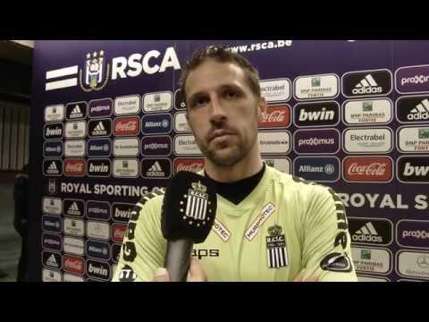 Nicolas Penneteau après R.S.C Anderlecht - R.Charleroi S.C