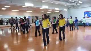 Quarter After One Line Dance (Dance & Walk Through)