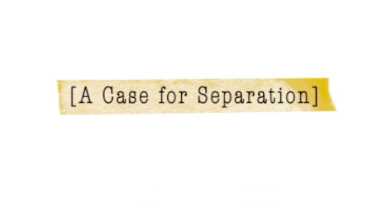A Case for Separation 1:2