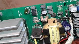 Искра Профи ММА 280I ремонт обзор схемы и деталировки