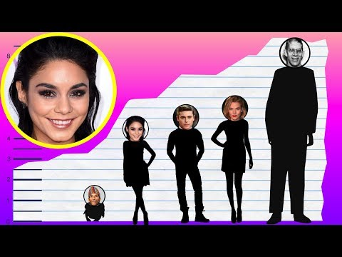 How Tall Is Vanessa Hudgens? - Height Comparison!