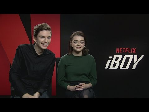 iBoy: Maisie Williams & Bill Milner talk about how real the film feels