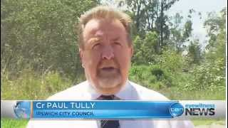Ch 10 News - Council fines illegal tyre and asbestos dump operator - 16 December 2014
