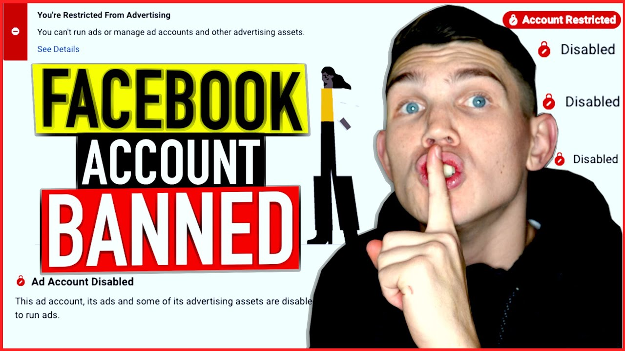 Facebook account disabled, how to create a new one without getting banned