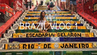 Brazil Travel Vlog 1| IVHQ | Rio De Janiero | Lapa Steps
