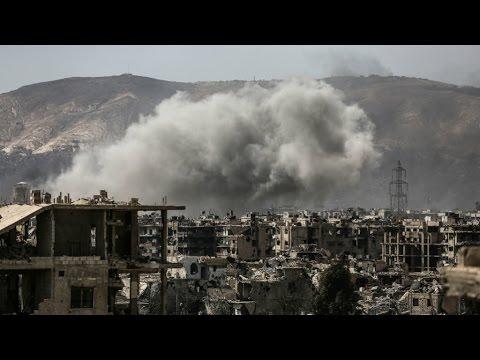 سوريا: قصف كثيف واستمرار للاشتباكات في دمشق