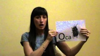 Обучение гласным буквам русского алфавита.