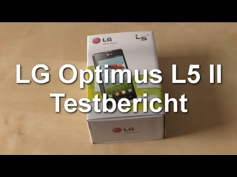 LG Optimus L5 II Testbericht