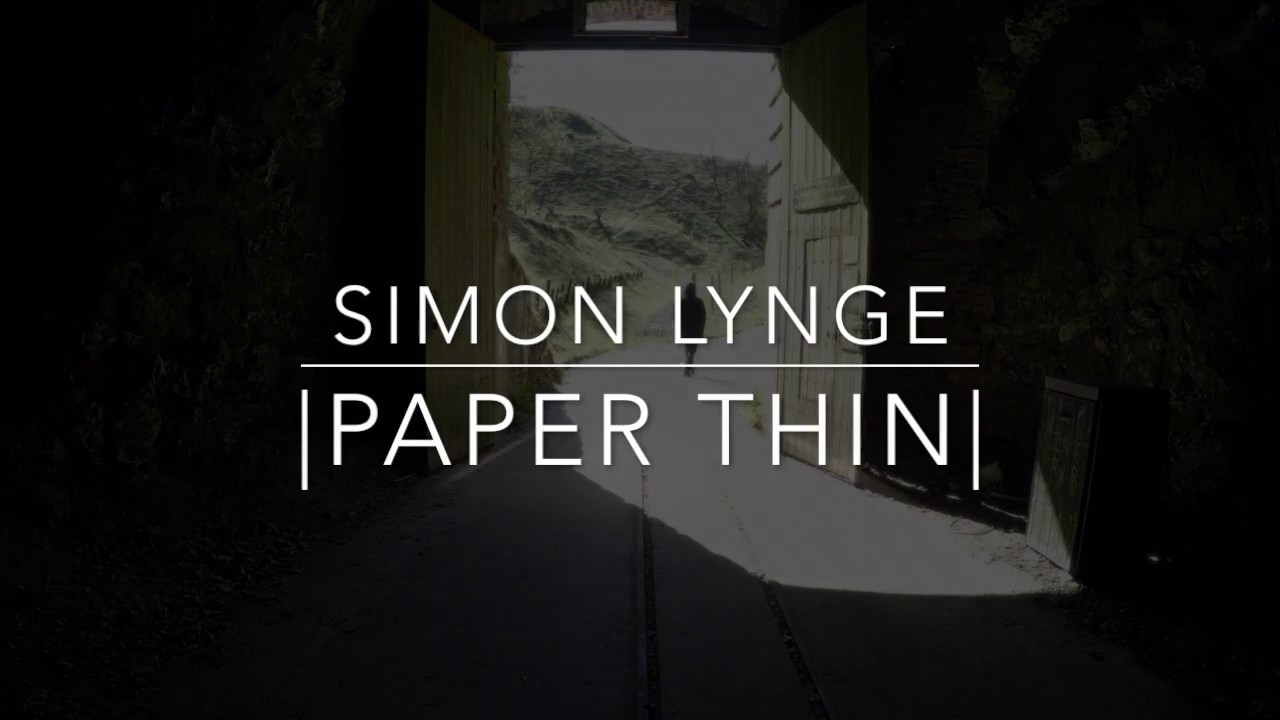 Download Simon Lynge - |Paper Thin|  [Official Music Video]