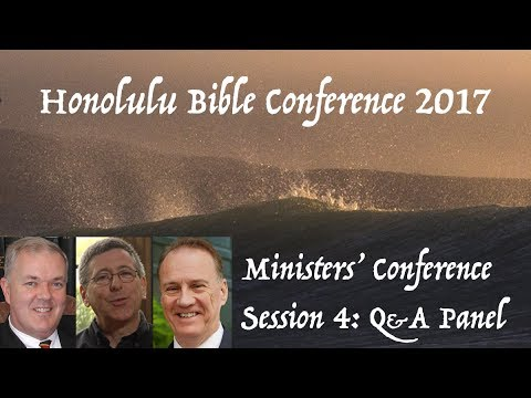 Open Discussion with our Panel | Honolulu Bible Conference