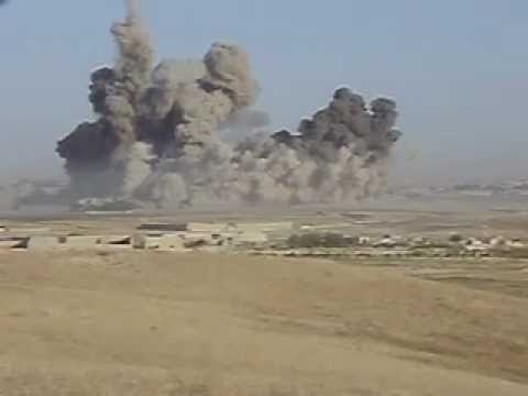 Afghanistan War, Helmand British Troops Call In 4 x 2000lb Bomb Airstrike