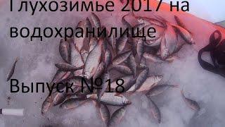 Глухозимье 2017 на водохранилище . Выпуск №18 . 16.01.2017