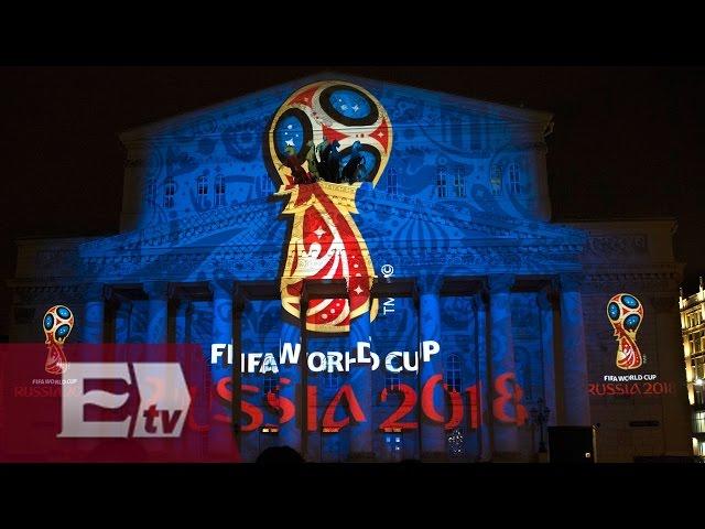 Presenta FIFA el logotipo del Mundial Rusia 2018/ Rigoberto Plascencia