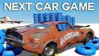 - Next Car Game Tech Demo Max cu masina prin ziduri