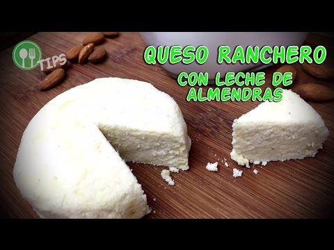 QUESO RANCHERO CON LECHE DE ALMENDRAS | Comer Vegano, TIPS...