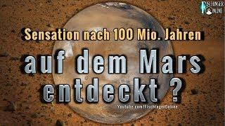 Sensation nach 100 Millionen Jahren auf dem Mars von