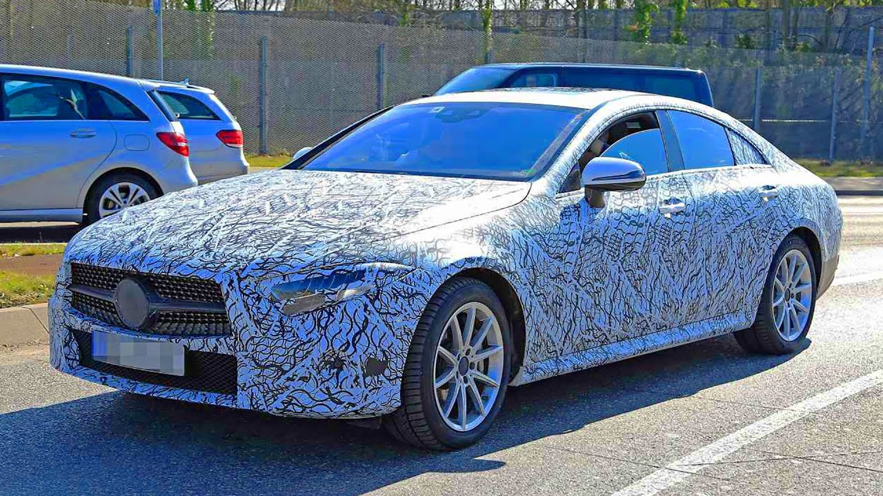 Mercedes Cls Cle 2018 Spy Shots Youtube