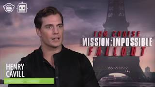 Henry Cavill Dissects MISSION: IMPOSSIBLE FALLOUT