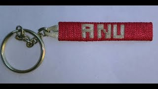 How to make a name keychain personalize ,bracelet, friendship band.