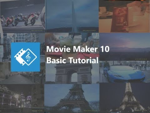 Windows Movie Maker 10 - Basic Editing Tutorial
