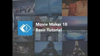 Windows Movie Maker 10 - Basic Editing Tutorial