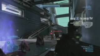 Halo Reach Beta Overkill and Killing Spree
