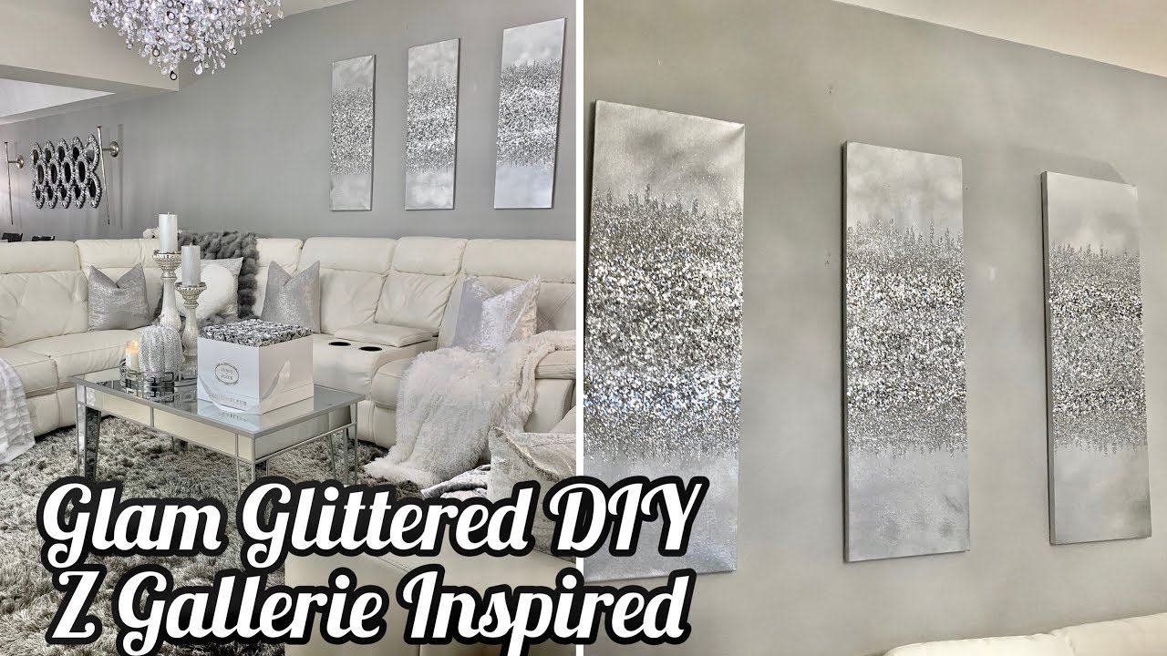Diy Glitter Wall Art Best