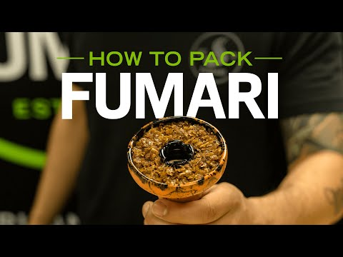 Fumari | How to Pack Fumari Hookah Tobacco | Official Video