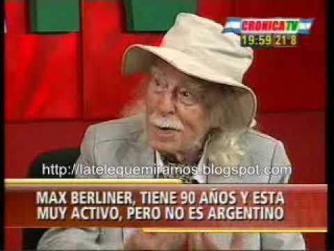 Max Berliner en Crónica I