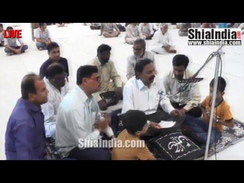 8th Jamdi-Ul-Awwal Majlis Baray-e-Isaal-e-Sawab Syed Khurshed Hyder Naqvi From Aza Khana-e-Zehra