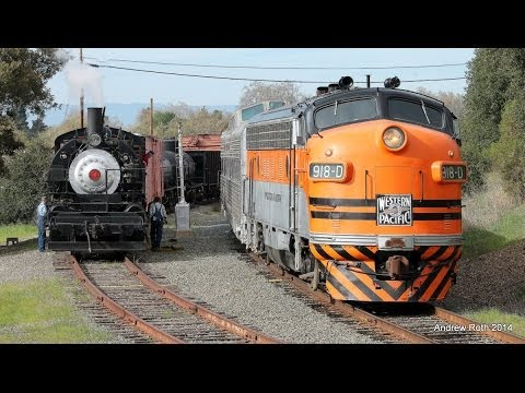 2014 Winterail Photo Special with Clover Valley 4 and WP 918-D