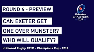 Can Exeter Get One Over Munster? Who will qualify for European Rugby Knock Outs?