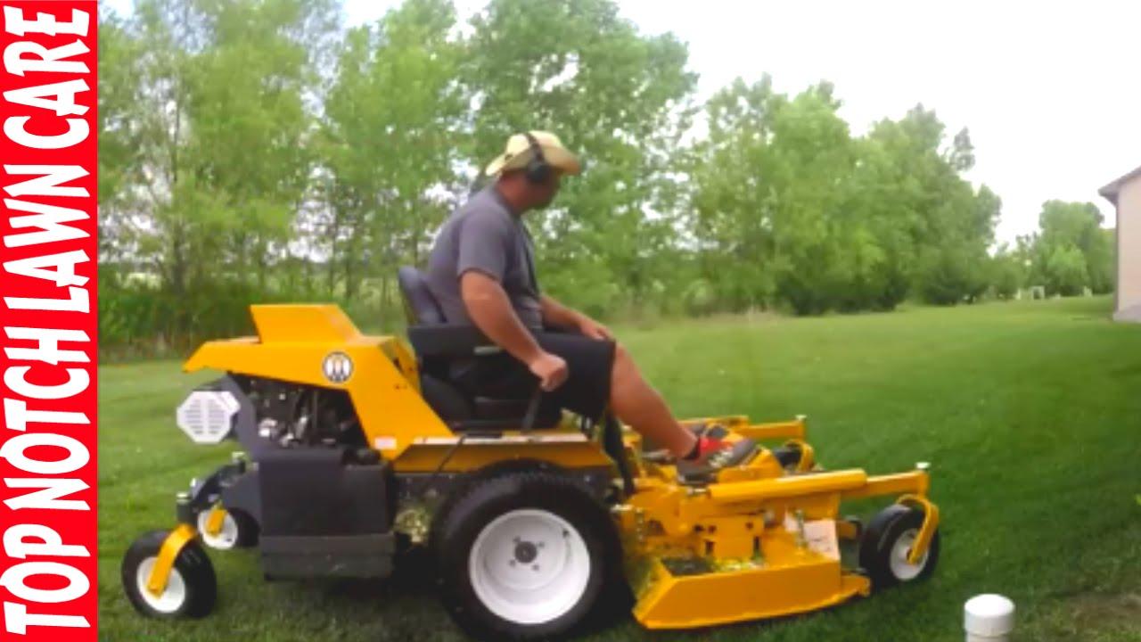 bought walker mower lawn