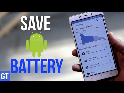 5 Best Android Battery Saving Tips