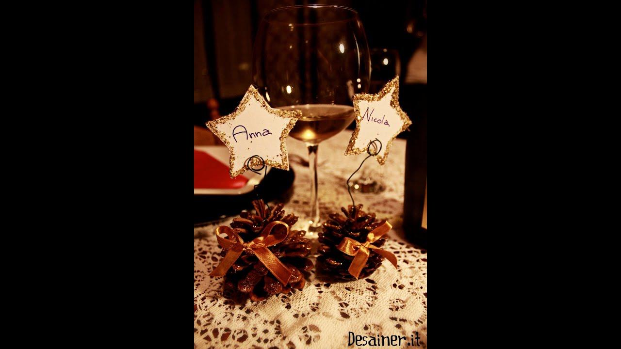 Segnaposti natalizi fai da te pianeta design youtube - Portacandele natalizi fai da te ...
