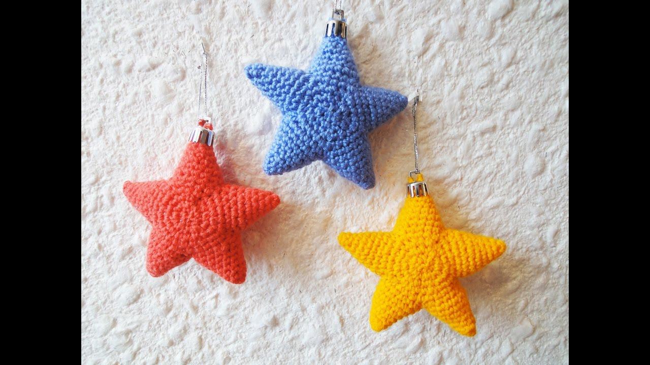 звездочка Star Crochet Youtube