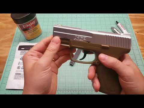Umarex XCP bb gun Pistol Review co2 bb gun shooting and full review