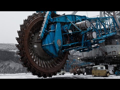 World's Biggest Mining Saw